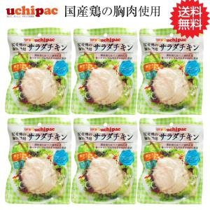 サラダチキン まとめ買い 国産 無添加 プレーン 6個セット ネコポス|wagonsale-kanahashi
