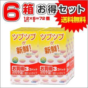 コンドーム 避妊具 スキン 6箱 計72個 セット つぶつぶ 潤滑剤付き 相模ゴム まとめ買い 大容量 お得パック|wagonsale-kanahashi
