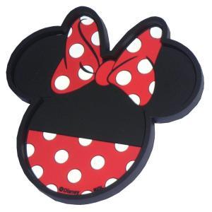 【ディズニー】 ピタッ!ダッシュボード トレイ★(ミニーマウス)散らばりやすい小物の保管に!|wagonsale
