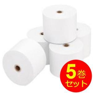 レジロール レジ 感熱紙 ペーパー SR5875 サーマルロール 5巻セット