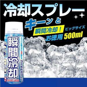 コールドスプレー お徳用500ml  冷却スプレー 冷却グッズ セール sale 特価 熱中症対策|wagonsale