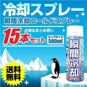 コールドスプレー お徳用500ml  15本セット(冷却スプ...