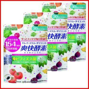 酵素 キレイ・スリム・ダイエット 爽快酵素 60粒 3袋セット|wagonsale