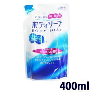 ボディーソープ 弱酸性 せっけんの香り 詰替 400ml|wagonsale