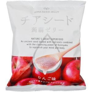 チアシード蒟蒻ゼリー りんご味 10個×12袋