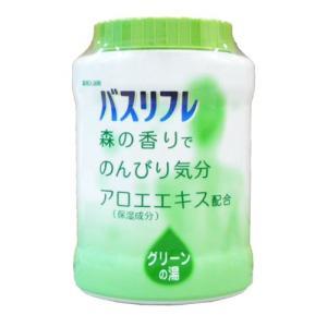 薬用入浴剤 バスリフレ グリーンの湯 本体 680g 森の香り 入浴剤 人気 アロマ 大容量 wagonsale