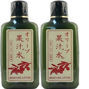 オリーブマノン グリーンローション(果汁水) 180ml【2本セット】