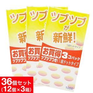 コンドーム 避妊具 スキン 3箱 36個 パック