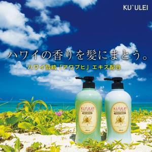 KUULEI ナチュラル&フレグランス シャンプー・コンディショナー セット 500ml ハワイの香り アワプヒ 日本製 Ku'u Lei Awapuhi クウレイ|wagonsale|02