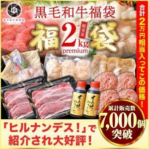 牛肉 福袋メガ盛り2.2Kg 送料無料 牛肉A5等級 コロナ支援 バラエティ詰め合わせ