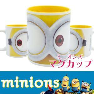 ミニオン マグカップ フェイス  ミニオンズ コップ USJ プレゼント ギフト