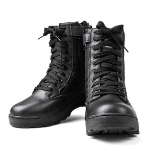 新品 SWAT サイドジッパータクティカルブーツ COBRA TYPE BLACK メンズ サバゲー...