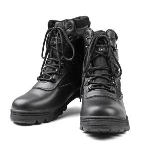 新品 米軍 SWATタクティカルブーツ BLACK TY-8004 サバゲー 靴 ブーツ シューズ ...