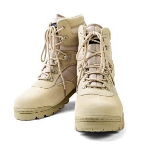 新品 米軍 SWATタクティカルブーツ SAND TY-8004  サバゲー 靴 ブーツ シューズ ...