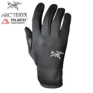 ARC'TERYX アークテリクス 手袋 RIVET リベット グローブ BLACK メンズ 手袋 POLARTEC ポーラテック アウトドア ブランド【正規取扱店】【クーポン対象外】|waiper