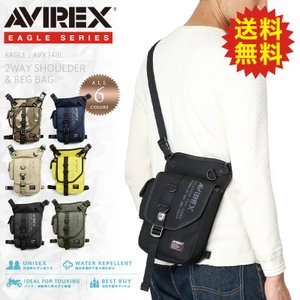 AVIREX アビレックス AVX348L EAGLE 2WAY ショルダー&レッグバッグ メンズ レディース ミリタリーバッグ 定番 (クーポン対象外)|waiper