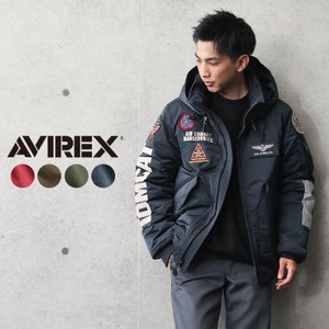 AVIREX アビレックス 6102176 TOP GUN CWU カスタム フライトジャケット メンズ トップガン ミリタリー ブランド【クーポン対象外】|waiper