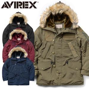 店内20%OFFセール! AVIREX アビレックス 6172143 N-3B フライトジャケット TIGER SHARKS《WIP》メンズ アウター ミリタリー ブルゾン 秋 冬|waiper