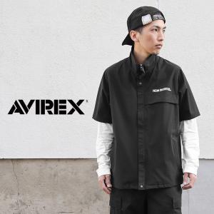 セール55%OFF!AVIREX アビレックス 6605001 P.D.W ムーブ ジップアップシャツ メンズ ミリタリーシャツ 半袖 ブランド【クーポン対象外】|waiper