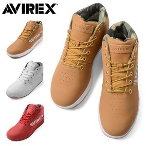 AVIREX アビレックス AV1262 THUNDER STORM ブーツスニーカー メンズ シューズ 靴 ミリタリー ブランド ミドルカット (クーポン対象外)|waiper