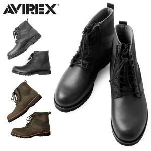 AVIREX アビレックス アヴィレックス AV2005 VANGUARD ブーツ メンズ ミリタリ...