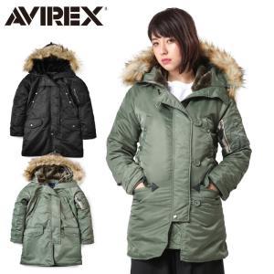 AVIREX アビレックス 6252053 レディース COMMERCIAL N-3Bフライトジャケット ミリタリージャケット ジャンパー ブランド【クーポン対象外】|waiper