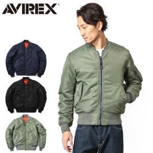 AVIREX アビレックス アヴィレックス MA-1 MA1 CM MIL-J-8279E フライトジャケット ジャンパー ブルゾン ミリタリー 6132077|waiper