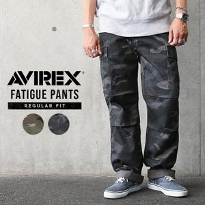 AVIREX アビレックス アヴィレックス FATIGUE PANTS ファティーグ カーゴパンツ CAMOUFLAGE レギュラーフィット メンズ ミリタリーパンツ 軍パン 6166111|waiper