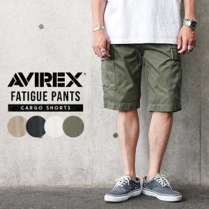 ポイント10倍!AVIREX アビレックス 6166118 ファティーグ ショートパンツ メンズ ショーツ ハーフパンツ 無地 ミリタリー ゆったり 送料無料【クーポン対象外】|waiper