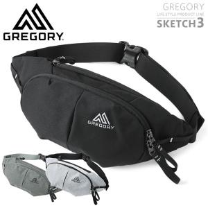 GREGORY グレゴリー SKETCH3(スケッチ3)ウエストバッグ ショルダーバッグ メンズ レディース ボディバッグ ウエストポーチ 新作 waiper