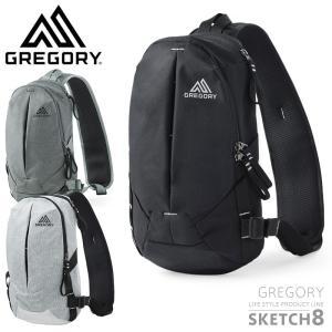 GREGORY グレゴリー SKETCH 8 スケッチ8 スリングバッグ メンズ レディース ショルダー ボディバッグ アウトドア ブランド waiper