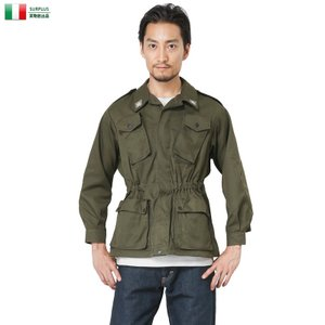 店内20%OFF! ミリタリージャケット 実物 新品 イタリア軍コンバットジャケット メンズ アウター 軍服 放出品|waiper
