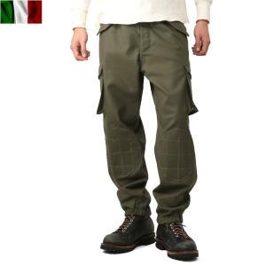 店内20%OFF! 実物 新品 イタリア軍 パラシュートカーゴパンツ ミリタリー ボトムス ズボン 軍パン|waiper