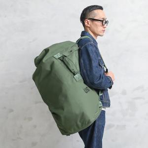 ■商品説明 制式名称:BAG,DUFFEL,NYLON  兵士が移動する際、個人の持ち物を詰め込んで...