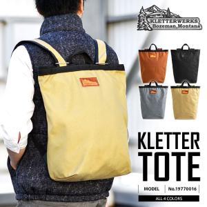店内2,000円OFFクーポン! Kletterwerks クレッターワークス TOTE 19770016 バックパック トートバック ブランド|waiper