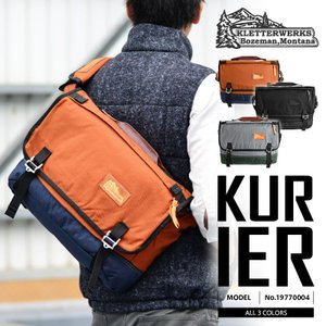 店内2,000円OFFクーポン! Kletterwerks クレッターワークス KURIER 19770004 メッセンジャーバック ブランド|waiper