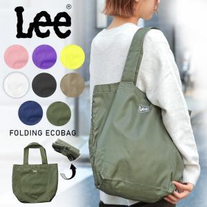 Lee リー LEE-0425668 QPER60 コンパクト エコ トートバッグ エコバッグ コンビニバッグ メンズ レディース アメカジ ブランド おしゃれ|waiper