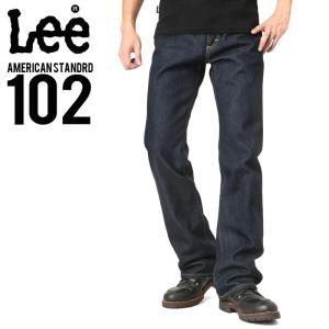 Lee リー AMERICAN STANDRD 102ブーツカットデニムジーンズ ワンウォッシュ(100) メンズ ジーンズ ジーパン ズボン ブランド|waiper