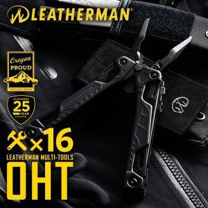 OHT(ワン・ハンド・ツール)は名前の通り、プライヤーからナイフまで全てのツールを片手のみで展開して...