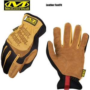 MechanixWear メカニクスウェア Leather Fast Fit Glove レザーファストフィットグローブ サバゲー サバイバルゲーム 手袋 グローブ メンズ バイク ツーリング|waiper