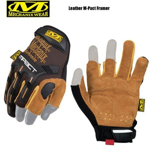 今だけ20%OFF! Mechanix Wear メカニックス ウェア Leather M-Pact Framer レザーエムパクトフレーマーグローブ ブランド|waiper