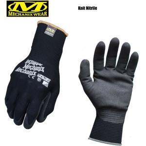 今だけ20%OFF! MechanixWear メカニックスウェア Knit Nitrile ニットニトリルグローブ メンズ バイク サバゲー 手袋 ミリタリー ブランド|waiper