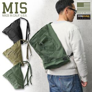 MIS エムアイエス MIS-1042 TA ONE SHOULDER BAG ワンショルダーバッグ MADE IN USA メンズ ミリタリーバッグ 肩掛け アメリカ製 おしゃれ ブランド【Sx】|waiper