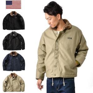 新品 米軍 N-1 N1 デッキジャケット 4色 メンズ ミリタリー アウター ジャケット アメリカ軍 【クーポン対象外】|waiper