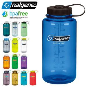 NALGENE ナルゲン 広口 1.0L TRITAN プラスチックボトル 水筒 MADE IN USA キャンプ アウトドア グッズ 必需品 防災グッズ【Sx】|waiper