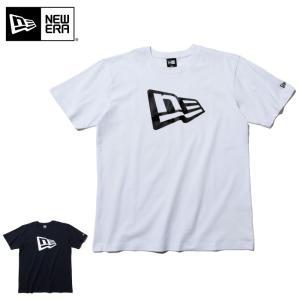 【メーカー取次】 NEW ERA ニューエラ S/S コットン Tシャツ フラッグロゴ 117829...
