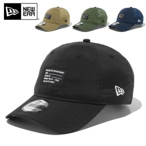 NEW ERA ニューエラ 9THIRTY リップストップタフタ ウーブンパッチ ベースボールキャップ メンズ ミリタリー 帽子 ブランド 2021 新作【クーポン対象外】|waiper