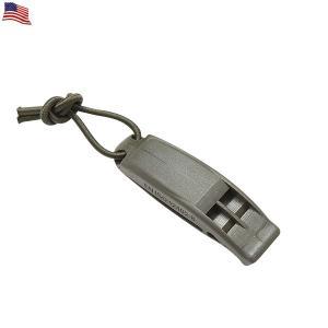 米軍使用タイプ MOLLE対応マリーンホイッスル 防災グッズ 災害グッズ OD モールシステム