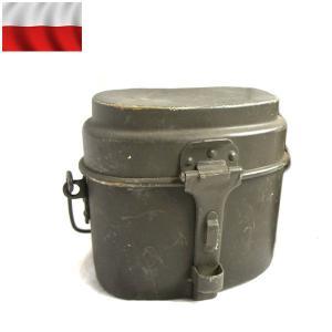 実物 USED ポーランド軍 アルミ飯盒 アウトドア キャンプ【クーポン対象外】|waiper
