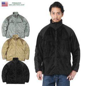 ■商品説明 米陸軍にて採用されている寒冷地用の被服システム「ECWCS」のフリースジャケットを復刻!...
